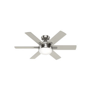Hardaway Brushed Nickel 44-Inch LED Ceiling Fan