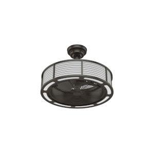 Tunley Noble Bronze 22-Inch LED Ceiling Fan
