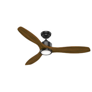 Melbourne Matte Black 52-Inch DC LED Ceiling Fan