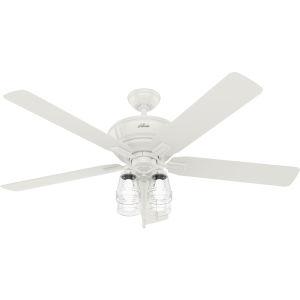 Grantham Fresh White 60-Inch Ceiling Fan