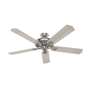 Royal Oak Brushed Nickel 60-Inch Ceiling Fan