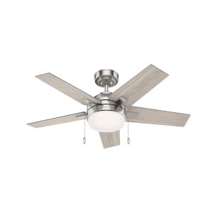 Bartlett Brushed Nickel 44-Inch LED Ceiling Fan