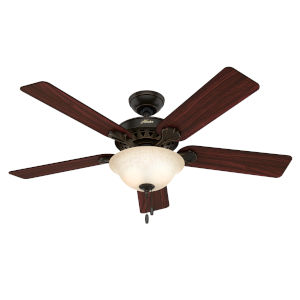 Waldon Onyx Bengal 52-Inch Ceiling Fan