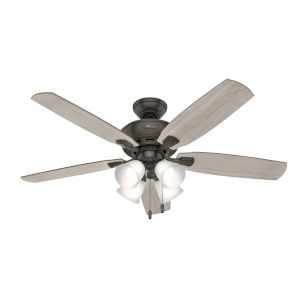 Amberlin Noble Bronze Four-Light LED 52-Inch Ceiling Fan
