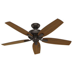 Newsome Premier Bronze 52-Inch Adjustable Ceiling Fan