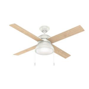 Loki Fresh White 52-Inch LED Ceiling Fan