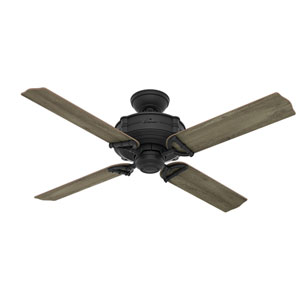 Brunswick Natural Iron 52-Inch Adjustable Ceiling Fan