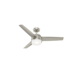 Midtown Matte Nickel 48-Inch LED Ceiling Fan