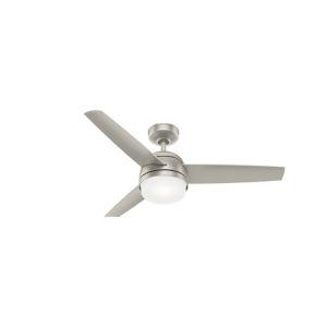 Midtown Matte Nickel 48-Inch LED Ceiling Fan