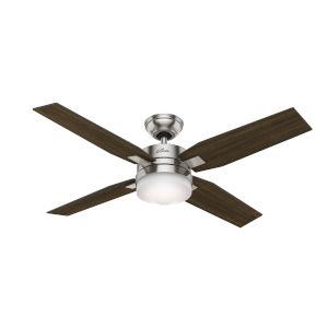 Mercado Brushed Nickel 50-Inch Ceiling Fan