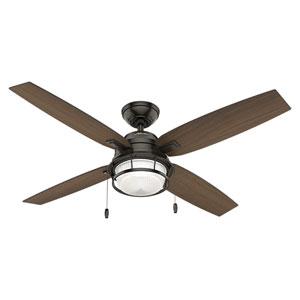 Ocala Noble Bronze 52-Inch Two-Light LED Adjustable Ceiling Fan