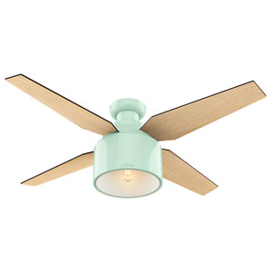 Cranbrook Mint 52-Inch One-Light LED Ceiling Fan