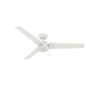 Cassius Fresh White 52-Inch Outdoor Ceiling Fan