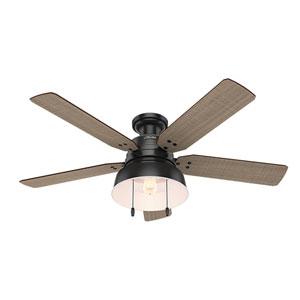 Mill Valley Matte Black 52-Inch One-Light LED Ceiling Fan