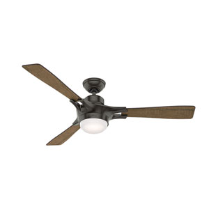 Signal Noble Bronze 54-Inch One-Light LED Adjustable Ceiling Fan