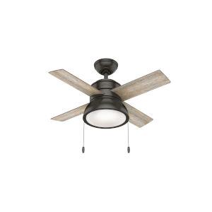 Loki Noble Bronze 36-Inch LED Ceiling Fan