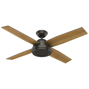 Dempsey Noble Bronze 52-Inch Adjustable Ceiling Fan
