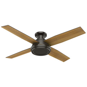 Dempsey Noble Bronze 52-Inch Ceiling Fan