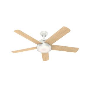 Romulus Fresh White 54-Inch Smart LED Ceiling Fan