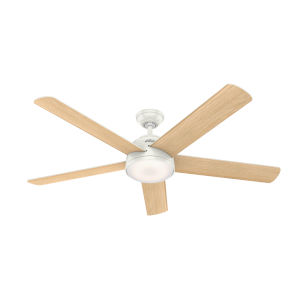 Romulus Fresh White 60-Inch DC Motor Smart LED Ceiling Fan