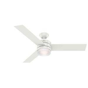 Exeter Fresh White 54-Inch LED Ceiling Fan