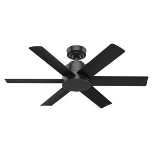 Kennicott Matte Black 44-Inch Outdoor Ceiling Fan