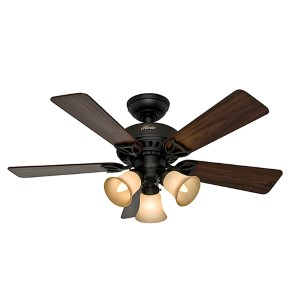 The Beacon Hill New Bronze Three Light 42-Inch Ceiling Fan