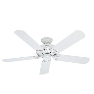 Bridgeport White 52-Inch Energy Star Ceiling Fan