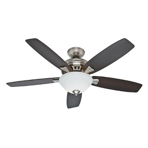Banyan Brushed Nickel Two Light 52-Inch Ceiling Fan