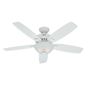 Banyan Snow White Two Light 52-Inch Ceiling Fan