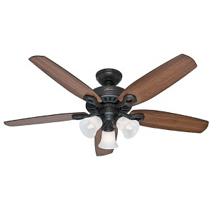 Builder Plus New Bronze Three Light 52-Inch Ceiling Fan
