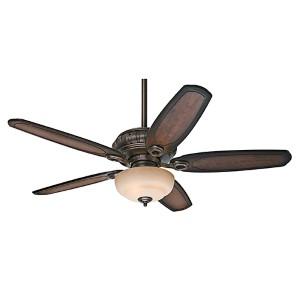 Kingsbridge Roman Sienna Three Light 54-Inch Ceiling Fan