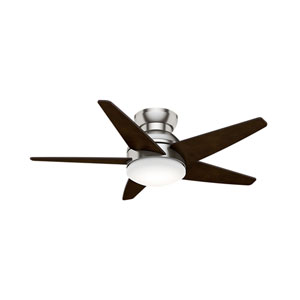 Isotope Brushed Nickel 44-Inch LED Ceiling Fan