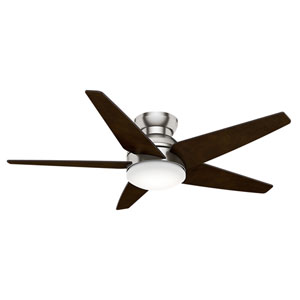 Isotope Brushed Nickel 52-Inch LED Ceiling Fan