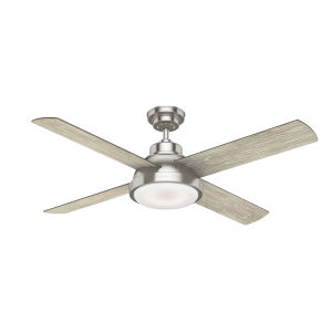 Levitt Brushed Nickel 54-Inch LED Ceiling Fan