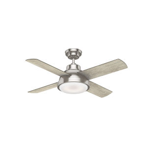 Levitt Brushed Nickel 44-Inch LED Ceiling Fan