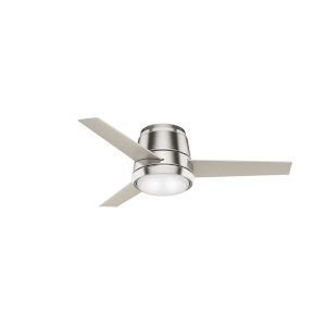 Commodus Brushed Nickel 44-Inch LED Ceiling Fan