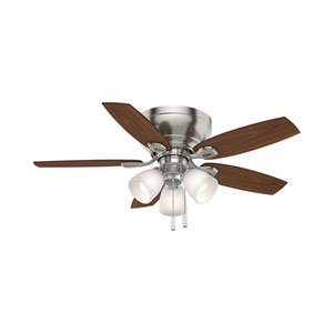 Durant Brushed Nickel 44-Inch Ceiling Fan