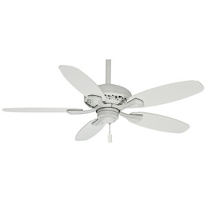 Fordham Cottage White 44-Inch Ceiling Fan