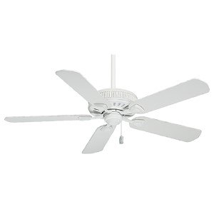 Ainsworth Cottage White Energy Star 54-Inch Ceiling Fan