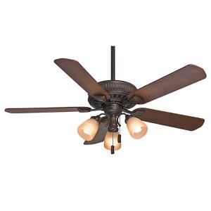 Ainsworth Gallery Onyx Bengal Three-Light 54-Inch Ceiling Fan