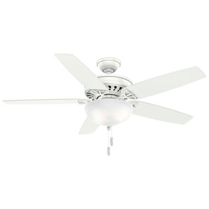 Concentra Gallery Snow White 54-Inch Ceiling Fan
