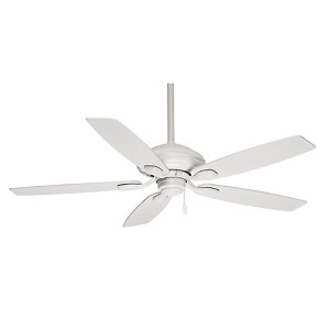 Utopian® Snow White Energy Star 52-Inch Outdoor Ceiling Fan