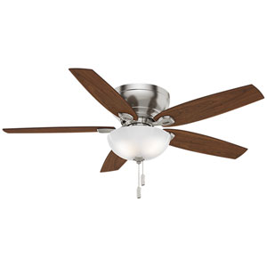 Durant Brushed Nickel 54-Inch Ceiling Fan