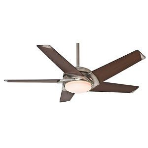 Stealth® Brushed Nickel LED 54-Inch Ceiling Fan
