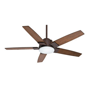 Zudio Industrial Rust 56-Inch LED Energy Star Ceiling Fan