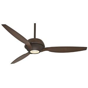 Riello Maiden Bronze One-Light Energy Star 60-Inch Ceiling Fan