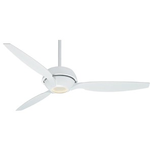 Riello Snow White One-Light Energy Star 60-Inch Ceiling Fan