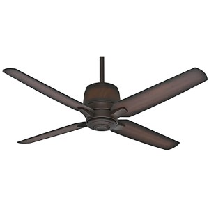 Aris Brushed Cocoa Energy Star 54-Inch Outdoor Ceiling Fan