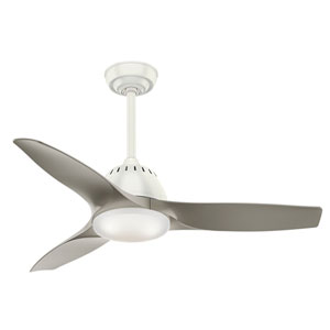 Wisp Fresh White 44-Inch LED Ceiling Fan